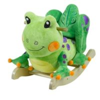 Rockabye™ Fergie Frog Musical Chair Rocker