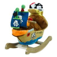 Rockabye™ Ahoy Doggie Pirate Ship Musical Play and Rock