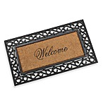 Koko Framed 20-Inch x 36-Inch Welcome Door Mat