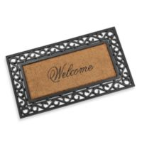 Koko Framed 20-Inch x 36-Inch Welcome Door Mat