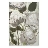 Floral Vine 24-Inch x 36-Inch Canvas Wall Art in White