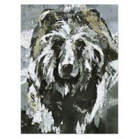 Bear Canvas Wall Art
