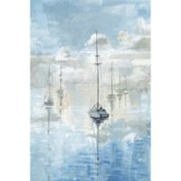 Marmont Hill Calm Clouds 8-Inch x 12-Inch Canvas Wall Art