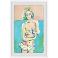 Marmont Hill Coquette 12-Inch x 18-Inch Framed Wall Art