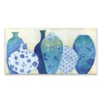 Chinoiserie Home 20-Inch x 40-Inch Canvas Wall Art