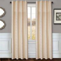 Sawyer Solid 84-Inch Rod Pocket/Back Tab Window Curtain Panel in Ivory