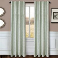 Sawyer Solid 84-Inch Rod Pocket/Back Tab Window Curtain Panel in Spa