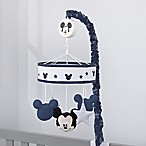"Disney® Mickey Mouse ""Hello World"" Musical Mobile in Navy"