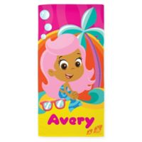 Bubble Guppies™ Molly Beach Towel in Pink