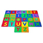 Hey! Play! Foam Floor Alphabet Puzzle Learning Mat