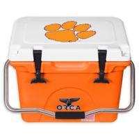 Clemson University 20 qt. ORCA Cooler