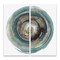 Into the Dark I and II 24-Inch Square Canvas Wall Art (Set of 2)