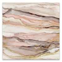 Graceful Marble II 35-Inch Square Canvas Wall Art
