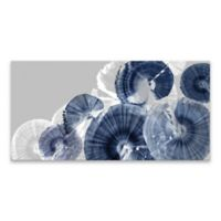Indigo Orbit 20-Inch x 40-Inch Canvas Wall Art