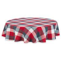 UGG® Camper Plaid 70-Inch Round Tablecloth