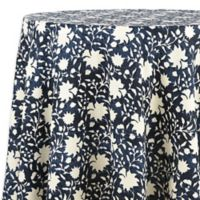 ED Ellen DeGeneres™ Azur Floral 70-Inch Round Tablecloth