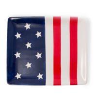 Boston International Patriotic Stars & Stripes Platter