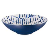 Indigo Stripe Soup/Cereal Bowls (Set of 2)