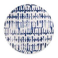 Indigo Stripe Dessert Plates (Set of 2)