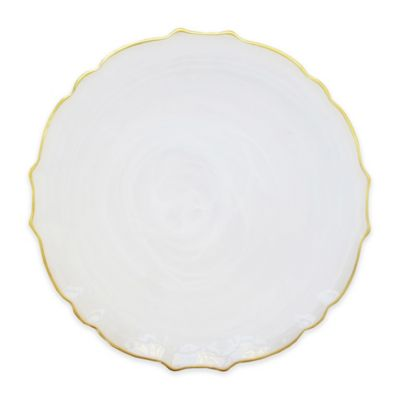 Buy Gold Rimmed Plates from Bed Bath & Beyond