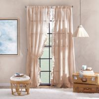 Peri Home Sadie 108-Inch Pole Top Window Curtain Panel in Blush