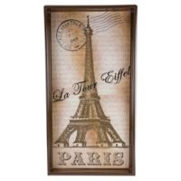 Paris Eiffel Tower Vertical Vanity Tray