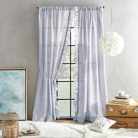 Peri Home Sadie 84-Inch Pole Top Window Curtain Panel in Orchid