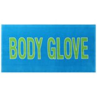 Body Glove Throwback Surfboard Beach Towel in Blue