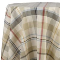ED Ellen DeGeneres™ Ludlow Plaid 70-Inch Round Tablecloth