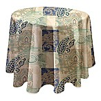 Madison 70-Inch Round Tablecloth in Taupe