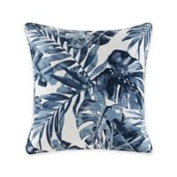 Madison Park Everett Indoor/Outdoor Square Pillow in Indigo