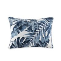 Madison Park Everett Indoor/Outdoor Oblong Pillow in Indigo