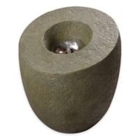 Kenroy Home Lava Floor Fountain in Moss Stone with Pump