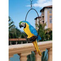 Design Toscano Polly in Paradise Medium Parrot Sculpture
