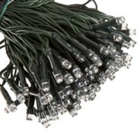 Pure Garden 200-Bulb Solar LED String Lights in Black
