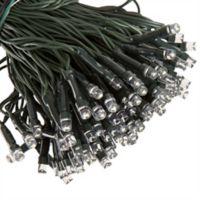 Pure Garden 200-Bulb Solar LED String Lights in Black