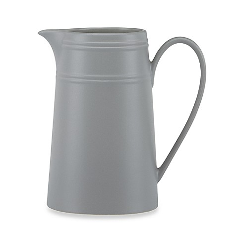 kate spade new york Fair Harbor™ Medium Pitcher in Oyster