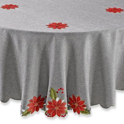 Attrayant Joyful Christmas 70 Inch Round Tablecloth