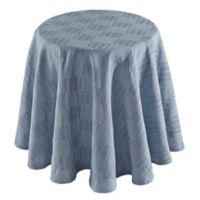 Dansk® Matera 70-Inch Round Tablecloth in Denim