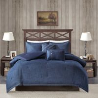 Woolrich® Perry Denim Queen Comforter Set in Blue
