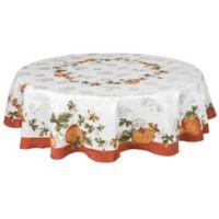 Bardwil Linens Cedar Grove 70-Inch Round Tablecloth