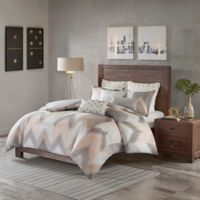 INK+IVY Alpine 3-Piece King/California King Duvet Cover Set in Blush