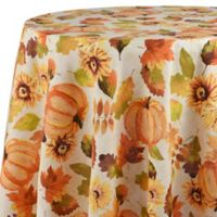 Harvest Medley 70-Inch Round Tablecloth