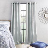 Skylar 108-Inch Grommet Window Curtain Panel in Silver