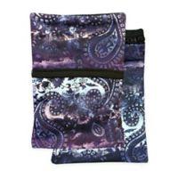 Sprigs® Journey Out 2-Pocket Phone Wrist Wallet in Black/Purple