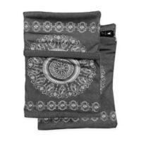 Sprigs® Journey Out 2-Pocket Phone Wrist Wallet in Grey Batik