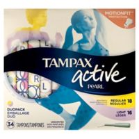 Tampax Pearl 36-Count Multipax Unscented Lites Regular Tampons