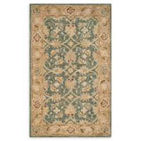 Safavieh Antiquity 4' x 6' Quincy Rug in Teal Blue