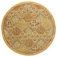 Safavieh Antiquity 3'6 x 3'6 Estera Rug in Light Blue