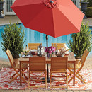 Image of Wood Patio Furniture